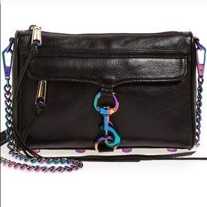 Rebecca Minkoff Mini MAC Oil Slick Iridescent Bag